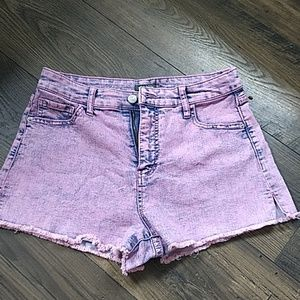 Pink Denim Cutoffs size 10